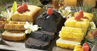 Beatrice Bakery Co.s Liqueur Cake Trio comes with three decadent, velvety pound cakes handmade with a rich blend of ingredients and drenched with the finest liqueur right out of the oven. Serve with fresh fruits, whipped cream or ice cream for a tasty dessert. Each 14-oz. cake serves eight to 10. Available: Golden Amaretto/Chocolate Rum/Kahlua Caf, Key Lime/Lemon Drop/Strawberry Daiquiri. Color: Chocolate. Type: Cakes, Pies & Candies. - $29.99