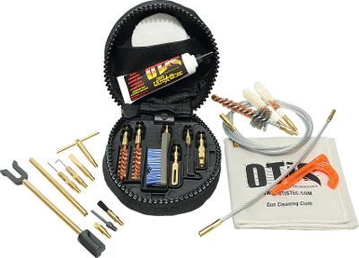 Hunting Clean and maintain your modern sporting rifles in the field or at the range with the Otis MSR/AR Cleaning Kit. Stored in a lightweight soft pack with belt loop, the kit includes 8 and 30 Memory-Flex cables for effective cleaning, bronze bore brush, Mongoose G2 brush, B.O.N.E. Tool and O85 Ultra Bore to lubricate and protect. Made in USA. Available: .223/5.56, .308/7.62. Color: Bronze. - $64.99