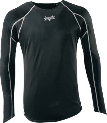 Hunting Scent-Lok's moisture-wicking base-layer Tech Weight top perfectly blends moisture management with odor control, adding a new solution to your scent-control strategy. This polyester-blended garment is antimicrobial treated to control odor-causing bacteria. Ultralightweight and designed for high activity and warmer temperatures. Imported. Sizes: M-2XL. Color: Black. - $9.88