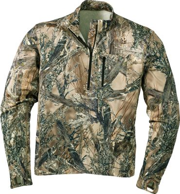 Hunting True Timber combines technical designs and patterns that blend perfectly with a wide range of conditions you'll encounter while hunting the West. This ground-breaking new pattern was designed using high-definition digital images to create realistic, cutting-edge patterns. Superior warmth-to-weight ratio for wear alone or layered. Quick drying and maximum stretch for unrestricted movement. Imported. Sizes: M-2XL. Camo pattern: True Timber MC2. - $59.99