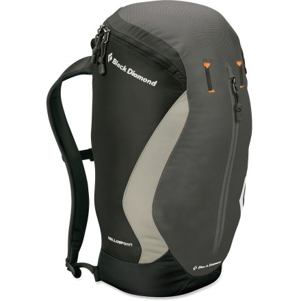 Camp and Hike The Black Diamond Hollowpoint pack is a great choice for urban adventures and trips to the crag. Modified panel-loading design offers top-zip access to main compartment. Hydration-compatible design features reservoir pocket and drink tube exit port for on-the-go hydration (reservoir not included). Zippered exterior pocket keeps small items organized. Padded shoulder straps for comfort; sternum strap and webbing waistbelt keep pack close. Closeout. - $49.93