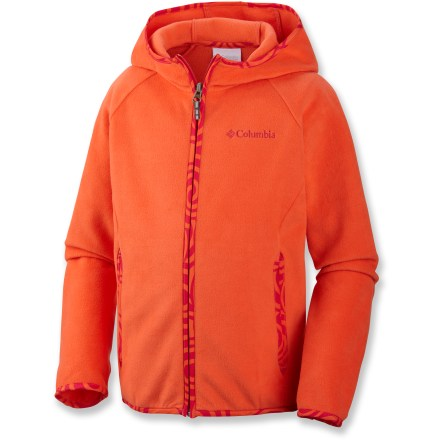 The Columbia Fast Trek(TM) hoodie for girls is designed to keep pace with every move your youngster makes. - $27.93