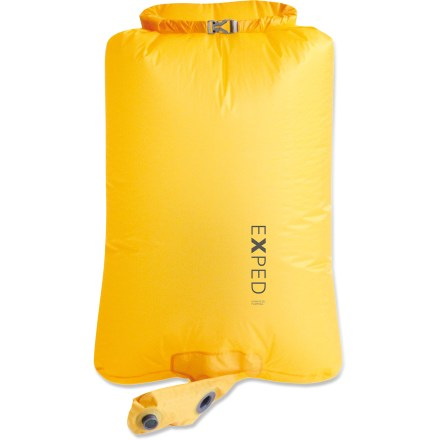 Camp and Hike The ultralight Exped Schnozzel Pumpbag works like a bellows, delivering air into your Exped sleeping mattress. - $39.00