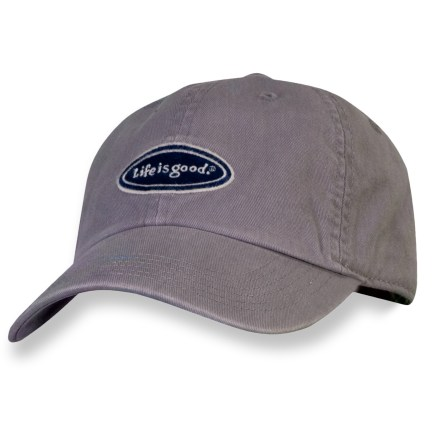 The Life is good(R) Chill cap keeps a bad hair day covered up. Choose this hat for daily wear. Cotton fabric is naturally soft, breathable and comfortable. Adjustable tab on back supplies a secure fit. Closeout. - $7.83