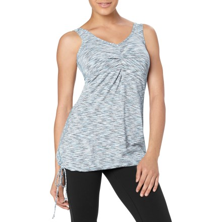 Fitness Cultivate a peaceful mood in the lucy Opening Night Tunic top. The lucy Opening Night Tunic top features a comfortable blend of nylon and spandex that wicks moisture and moves with you during motion. Body-skimming fit. - $37.93