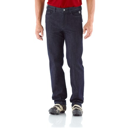 Fitness You could wear the 30 in. Novara Cragmont Denim bike pants all day long and forget they were made for cycling. They're styled that well. But jump on your bike, and they're all about performance! - $34.83