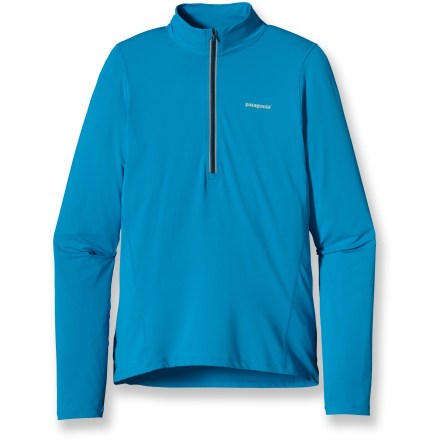 Fitness The Patagonia All Weather top matches perfectly with early morning runs, cool-weather training and late-season activity. - $33.83