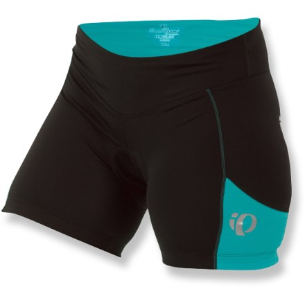 Fitness The Pearl Izumi Sugar bike shorts are ideal for indoor cycling classes. They sport a short inseam and combine a non-traditional look with high-performance construction. - $41.93