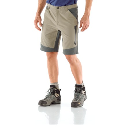 MTB The REI Venturi shorts are built tough to take on the most challenging adventures, from multiday backpacking trips to long mountain bike rides, to difficult rock climbs. - $16.83