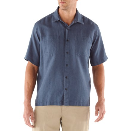 Stay cool and comfortable on warm summer day with the airy REI Leno shirt. - $10.83