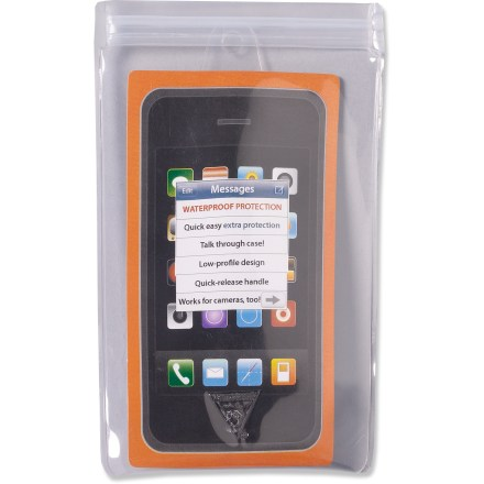 Entertainment The Seattle Sports Dry Doc Splashproof Digi Case offers easy and reliable protection for your cell phone, MP3 player or other small electronics. - $9.95