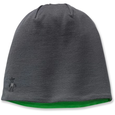 Ski The SmartWool Training Beanie keeps your head warm while you're out for a run. 4-panel, single-layer crown construction offers a good fit. Countoured, double-layer merino wool earband adds warmth and comfort. Closeout. - $15.93