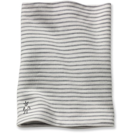 Ski The SmartWool Neck gaiter provides the soft feel and easy warmth of merino wool. Merino wool wicks away moisture and breathes to regulate temperature for outstanding comfort in a variety of conditions. Machine washable. Closeout. - $10.83