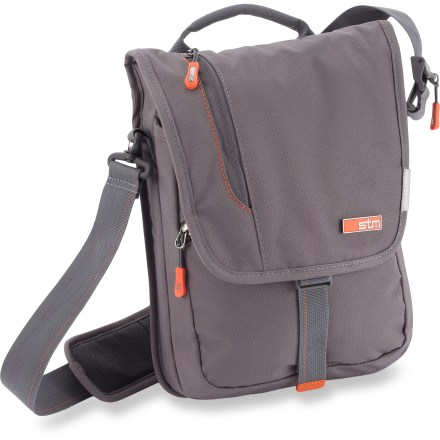 Entertainment Designed specifically for use with an iPad or tablet computer, the STM Linear iPad shoulder bag keeps your hands free while on the go by providing snug and secure storage for your favorite device. - $36.83