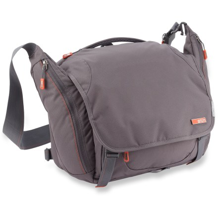 Entertainment The STM Velo 2 Laptop shoulder bag is a sleek and stylish travel companion, easily storing your laptop and all accessories needed for a full day's work. - $49.93