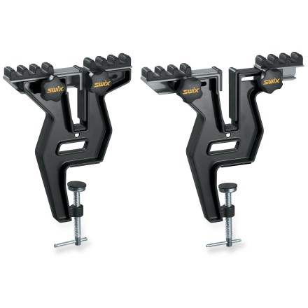 Ski The easy-to-use Swix FX Wide Ski/Snowboard Vise allows vertical and horizontal mounting options. - $89.95