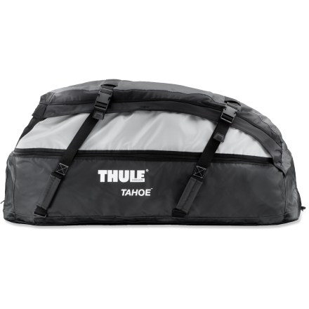 Camp and Hike The Thule Tahoe Roof Bag boasts the capacity and quality of a Thule hard-shell roof box, but is foldable for easy storage. - $167.93