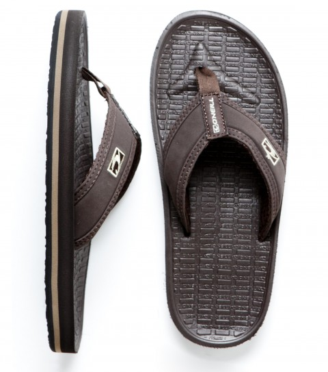 Entertainment O'Neill Boys Koosh 2 Sandals.  Synthetic nubuck leather upper; neoprene lining; contoured compression molded EVA footbed with arch support; embroidered logo and rubber sponge outsole. - $25.00