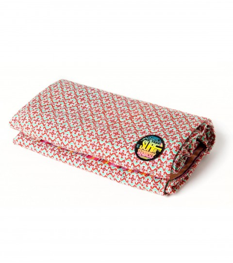 "Surf Don't hit the sand without our O'Neill Gidget Beach Blanket. This summer accessory is a cotton yarn-dye and print mix beach blanket rollup with self strap tie closure. Dimensions: 30""H x 60""W - $24.99"