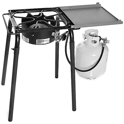 Camp and Hike Free Shipping. Camp Chef Pro 30 Single Burner Stove DECENT FEATURES of the Camp Chef Pro 30 Single Burner Stove 14in. x 16in. cooking area Removable legs 30,000 BTU/hr Folding shelf included The SPECS Box Dimension: (L x W x H): 23 x 10 x 15.5in. Box Weight: 23 lbs - $114.59