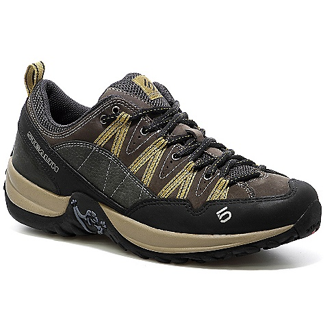 Camp and Hike Free Shipping. Five Ten Men's Insight Shoe DECENT FEATURES of the Five Ten Men's Insight Shoe Upper: Nubuck Leather Closure: Lace Outsole: Stealth C4/S1 - $134.95