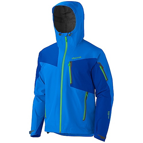 On Sale. Free Shipping. Marmot Men's Silverton Jacket DECENT FEATURES of the Marmot Men's Silverton Jacket Gore-Tex Pro Fabric Micro-Stitched and 100% Seam Taped Helmet Compatible Gale-Force Hood with Laminated Wire Brim ERG Hood Adjustment System PitZips with Water Resistant Zippers Hand Pockets with Water Resistant Zipper Chest Pocket with Water-Resistant Zipper Sleeve Pocket with Water-Resistant Zipper Asymmetric Cuffs with Velcro Adjustment Zip-off Powder Skirt Interior Mesh Storage Pocket DriClime Lined Chin Guard Elastic Draw Cord Hem Angel-Wing Movement The SPECS Weight: 1 lb 1.3 oz / 490.4 g Center Back Length: 28.5in. Fit: Athletic Material: Gore-Tex Pro 3L 100% Nylon 3.6 oz/yd - $399.99