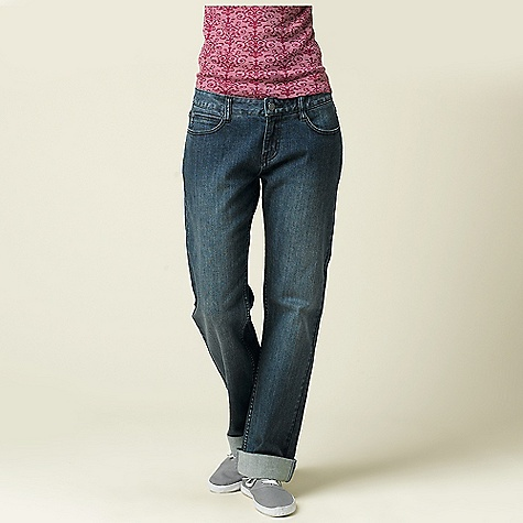 Free Shipping. Prana Women's Boyfriend Jean DECENT FEATURES of the Prana Women's Boyfriend Jean Relaxed boyfriend denim pant Can be worn rolled or unrolled 5-pocket detailing Size 4=32in. (81.3 cm) inseam Relaxed fi The SPECS Fabric: 99 Cotton / 1 Spandex Weight: 10.5 oz - $78.95