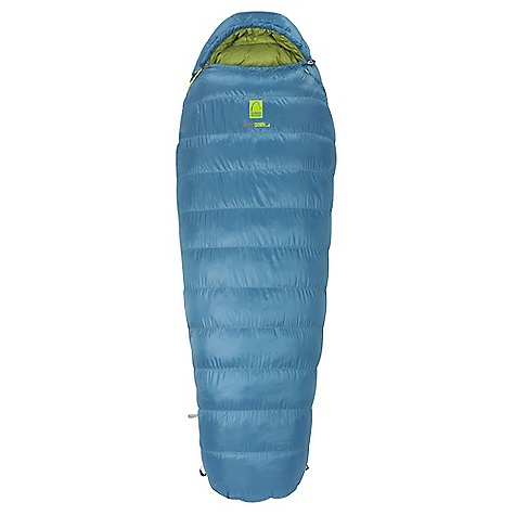 Camp and Hike Free Shipping. Sierra Designs Women's Eleanor 20 HI Sleeping Bag DECENT FEATURES of the Sierra Designs Women's Eleanor 20 HI Sleeping Bag DriDown - Stays drier 7-times longer than untreated down Keeps warmer - Retains 34% more loft than untreated down when exposed to moisture and humidity Dries Faster - Dries 33% faster than untreated down Women's specific construction and warmth rating Snag-free zipper tracks Draw cord at collar Draft collar Easy access, ventable, 60 inch zipper Zipper draft tube Ergonomic hood and footbox Includes stuff and storage sacks The SPECS Temp Rating: 20deg / -7degC Shape: Mummy EN Comfort Limit: 19degF / -7degC Insulation: 600 Fill-Power DriDown Shell material: 30D Polyester Micro Ripstop Liner material: 30D Polyester Fits to: 5 ft 6 in / 168 cm Length: 72 in / 183 cm Zipper Side: Right Shoulder girth: 57 in / 145 cm Hip girth: 57 in / 145 cm Footbox: 39 in / 99 cm Fill weight: 32 oz / .9 kg Total weight: 3 lbs / 1.36 kg Stuffed diameter: 9 in / 23 cm Stuffed length: 17 in / 43 cm - $399.95