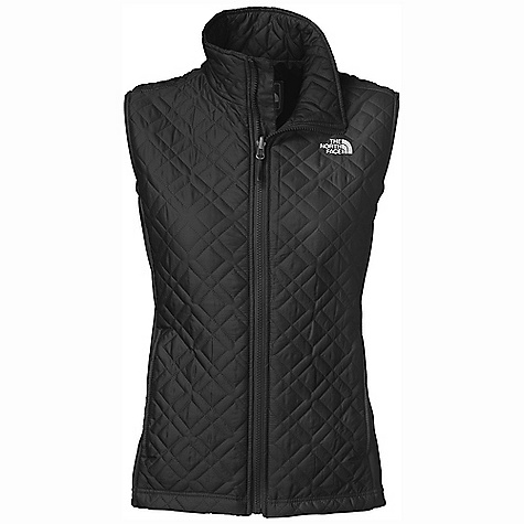 Free Shipping. The North Face Women's Kosmo Vest DECENT FEATURES of The North Face Women's Kosmo Vest Zip pockets Internal security pocket The SPECS Average Weight: 15.52 oz / 440 g Center Back Length: 25in. Shell: 44D 73 g/m2 shadow box crossdye taffeta-52% nylon, 48% polyester ripstop (bluesign approved fabric) Panel: 265 g/m2 93% polyester, 7% elastane double-knit pique fleece Insulation: 120 g Heatseeke This product can only be shipped within the United States. Please don't hate us. - $98.95