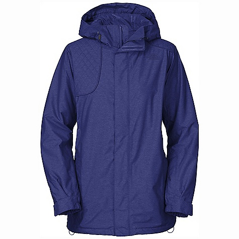 On Sale. Free Shipping. The North Face Women's Stanyan Jacket DECENT FEATURES of The North Face Women's Stanyan Jacket Waterproof, breathable, fully seam sealed Adjustable fixed hood Core zip-vents Handwarmer zip pockets Wrist accessory pocket with goggle cloth Internal goggle pocket Snap-back powder skirt with elastic gripper Adjustable hem system Hook-and-loop adjustable cuffs Imported The SPECS Average Weight: 36.68 oz / 1040 g Center Back Length: 29.5in. Shell: HyVent 2L novelty Lining: Taffeta Insulation: 100 g/80 g Heatseeker This product can only be shipped within the United States. Please don't hate us. - $173.99