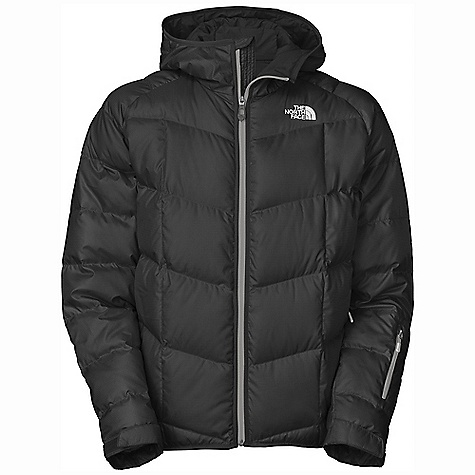 On Sale. Free Shipping. The North Face Men's Gatebreak Down Jacket DECENT FEATURES of The North Face Men's Gatebreak Down Jacket Water-resistant, windproof, breathable Handwarmer zip pockets Wrist accessory pocket with goggle cloth Internal media pocket Internal goggle pocket Powder skirt Adjustable hem system Adjustable cuff tabs The SPECS Average Weight: 30.34 oz / 860 g Center Back Length: 29in. Shell: 50D 82 g/m2 polyester shadow ripstop with DWR (bluesign approved fabric) Insulation: 550 fill down This product can only be shipped within the United States. Please don't hate us. - $171.99