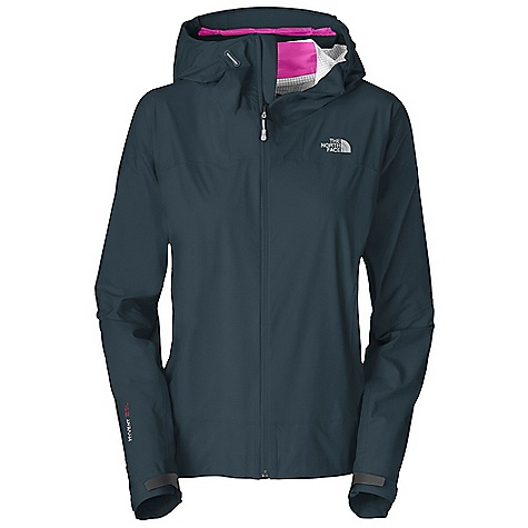 Free Shipping. The North Face Women's Leonidas Jacket DECENT FEATURES of The North Face Women's Leonidas Jacket Waterproof and seam taped, with four-way stretch Fully adjustable, helmet-compatible hood with hidden cord locks and laminated brim Harness- and packfriendly alpine handwarmer pockets Nonabrasive, molded cuff tabs Hidden hem cinch-cord at center front zip No-rise hem is slightly longer in the back Summit Collection is harness and pack-compatible Imported The SPECS Average Weight: 10 oz / 285 g Center Back Length: 26in. 40D 89 g/m2 HyVent 2.5L-100% nylon plain weave with four-way mechanical stretch This product can only be shipped within the United States. Please don't hate us. - $229.95