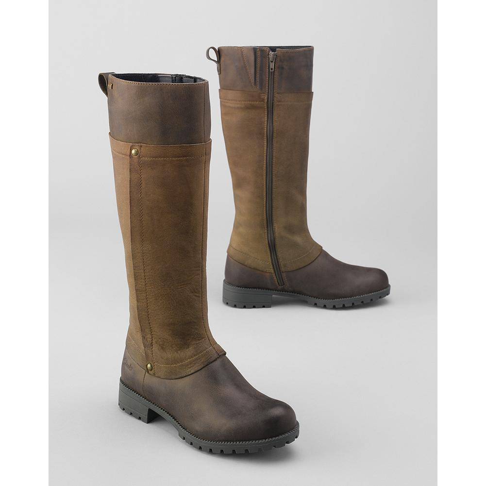 Clarks Artisan Neeve Ella Boots - A feminine spin on English country boots from Clarks, with burnished nubuck upper and Gore-Tex lining for complete waterproof protection. - $260.00
