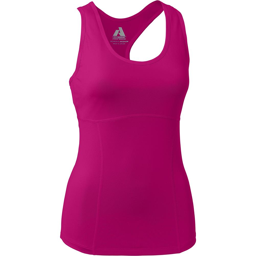 Camp and Hike Eddie Bauer Circuit Tank Top - Designed for yoga, trail running and hiking, this active fit tank provides ample support and coverage, and features a high-performance stretch knit fabric. - $29.99