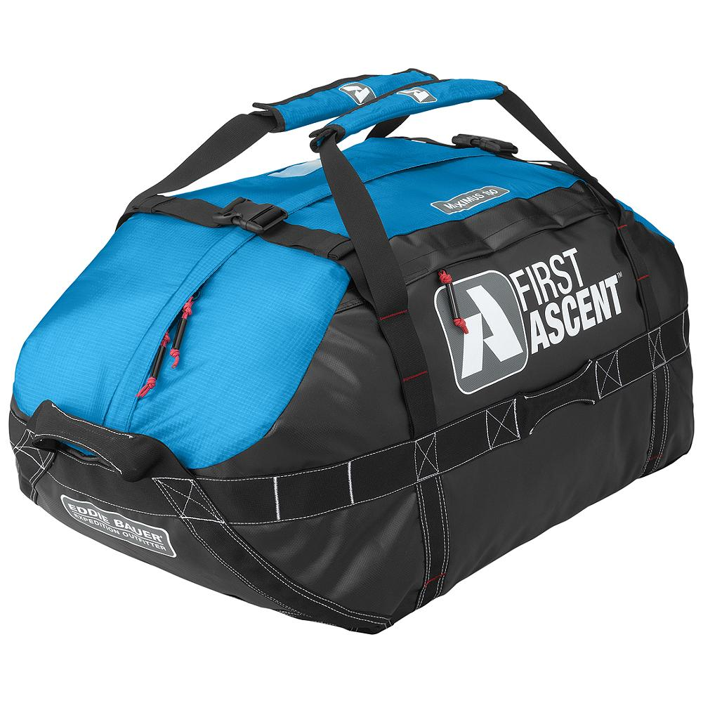 Camp and Hike Eddie Bauer Maximus Duffel 150L - The bag to pack for expeditions of any duration, our new Maximus upgrades its burly reputation with five carry handles, bombproof reinforcement and padded shoulder straps. - $169.00