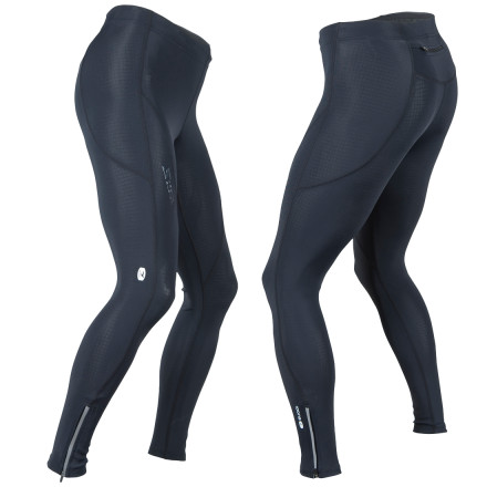Fitness You can feel the road, the wind, and your body work as you pedal down the highway. Thats because the Sugoi Womens RSR Tight utilizes an articulated fit and an aerodynamic, grid-patterned material that wicks sweat and breathes. - $59.47