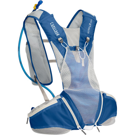 Fitness The Camelbak Ultra LR Hydration Vest features a highly customizable fit for maximum stability during trail races and similarly demanding situations. - $129.95