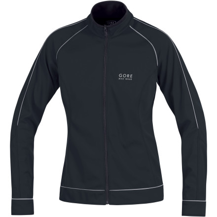 Fitness Wearing the right jacket is crucial on a cold ride, luckily the Gore Bike Wear Power SO Women's Jacket is built for just such conditions. Constructed using Gore Windstopper material, you can say goodbye to cold winds piercing your core like daggers. The Power SO is also fleece-lined with a close-fit high collar for maximum warmthbut without the bulkiness of your other three fleece jackets. Two-compartment patch pockets on back carry the afternoon essentials, while the reflective piping and logos keep you visible to motorists when the sun dips below the horizon. - $71.98