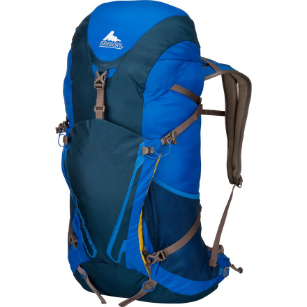 Climbing Count on the Gregory Fury 32 Backpack for fast-and-light pursuits up steep mountains or over challenging terrain. This lightweight, durable pack features a wickedly comfortable and supportive Kinetic FTS suspension system, a breathable mesh backpanel with center channel vents, and space for your day-hiking gear and snacks. - $90.27