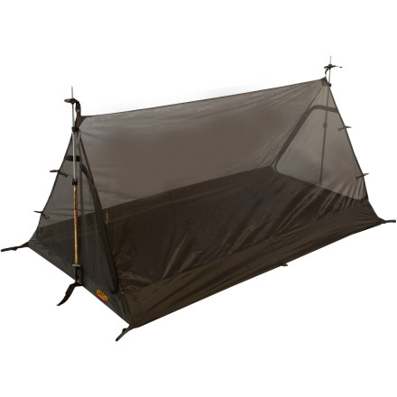 Camp and Hike Some of the wildest places on the planet foster the largest and most aggressive bug populations. Since bug spray can do nothing to deter the mutant blood-sucking insects, climbing inside the Integral Designs Element 2 Bug Tent provides your only line of defense. - $124.95