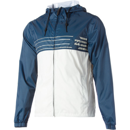 Surf When the changing season strikes the coast with wind gusts and chilly rain, you'll be ready with the Billabong Men's Strike Force Windbreaker. It packs down small so you can stash it in a dry bag or in the back seat of your ride. - $35.67