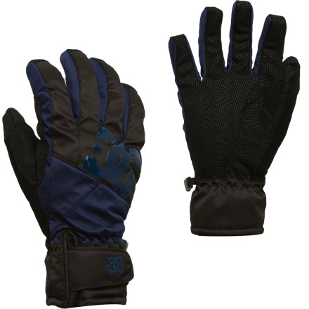 Snowboard Built by DC exclusively for Whiskey Militia, the CB4 glove delivers reliable low-pro hand protection without bleeding you dry. - $21.98