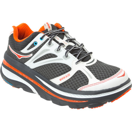 Fitness Following in the footsteps of Hoka One One's revolutionary and award-winning Mafate Shoe, the Bondi B Running Shoe incorporates much of the same tech that made the Mafate a winner with trail runners but features a slightly tweaked design to specifically address the needs of road runners. - $169.95