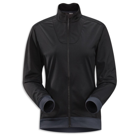 Fitness Zip up the Arc'teryx Women's Trino Jersey, throw on your snowshoes, and hit the trail. This performance-geared jacket helps your body regulate its temperature by blocking the wind while wicking excess moisture to keep you from feeling hot and sweaty. - $198.95