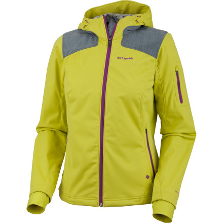 Weather changes quickly when you're in the wild parts of the world, and the Columbia Women's Guide Ride Softshell Jacket gives you versatile protection to keep you comfortable when you're in the outdoors. Whether you're pushing through a rainy trail in the Northwest or hanging from a rope on a cold clear day in the high desert, this softshell works hard to make sure you feel good. - $69.97