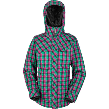 Ski Here we go again with your 'I don't know what to wear' dilemma. Haven't you heard of The North Face Women's Socializer Jacket' It'll keep you well protected from the elements when you decide to snake some bro-brah's line because he's still fumbling with his strap-on camera. - $103.58