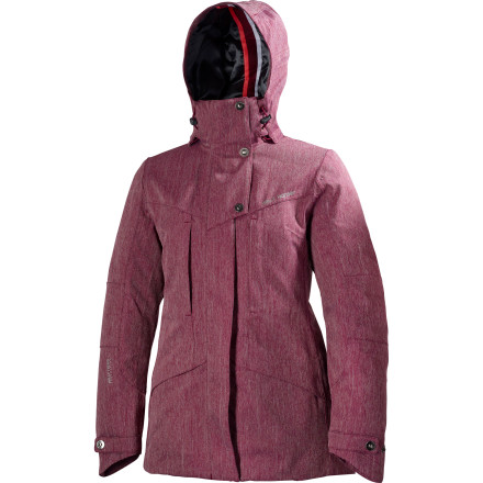 You want to be warm, but you don't want to look like a marshmallow. The Helly Hansen Women's Spitsbergen Insulated Jacket uses high-tech fabrics to seal out the cold. Plus the tailored cut keeps you looking like an actual human. - $83.99