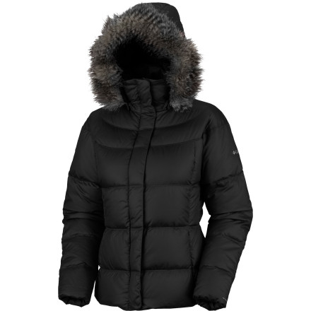 When winter is throwing down its worst, just walking to the store can feel like an Arctic expedition. The Columbia Women's Mercury Maven II Down Jacket brings a fresh, updated style to a cold-weather classic. Zip up in this hooded down jacket and beat the cold. - $129.95
