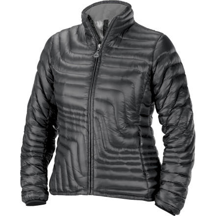 The Isis Womens Slipstream Down Jacket proves that you dont have to sacrifice style to have technically sound cold-weather protection. Low-profile, lightweight 800-fill down catches your body heat on the most frigid days on the slopes while its shapely quilted pattern will catch the eyes of your friends in the lodge. - $160.27