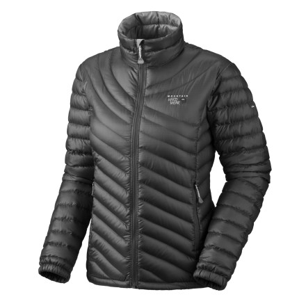 Take the lightweight Mountain Hardwear Womens Nitrous Down Jacket with you on your trips into the backcountry. This extremely lightweight, packable down jacket features a ripstop shell that stands up to wear and tear of your epics, while the 800-fill down insulation ensures that you stay warm when the winds start to howl. - $114.98